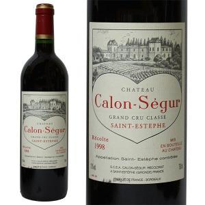 シャトー カロン セギュール 1998年 750ml 箱なし(赤ワイン・フランス)|paz-work