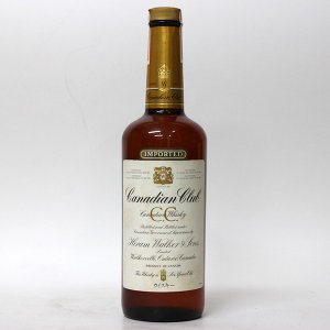 【オールドボトル】カナディアン クラブ(1980年代流通) 750ml 40%  正規品・箱なし(ウイスキー・カナディアン)|paz-work