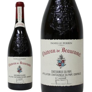 シャトー ド ボーカステル シャトーヌフ デュ パプ ルージュ2009年 ファミーユ ペラン  750ml 箱なし(赤ワイン・フランス)|paz-work