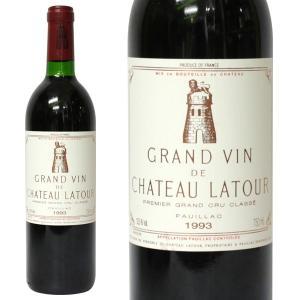 シャトー ラトゥール 1993年 750ml 箱なし(赤ワイン・フランス)|paz-work