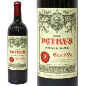シャトー ペトリュス 2008年 750ml 箱なし(赤ワイン・フランス) paz-work
