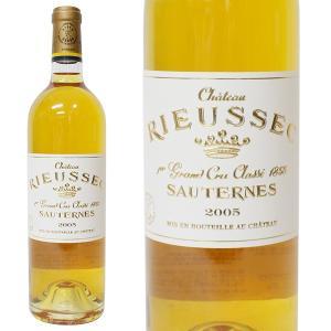 シャトー リューセック 2005年 750ml 箱なし(貴腐ワイン・フランス)|paz-work