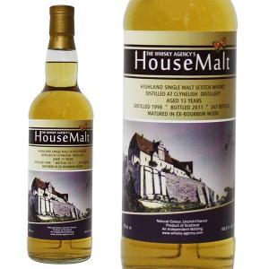 クライヌリッシュ 13年 ウイスキー エージェンシー ハウスモルト [1998-2011年] 700ml 48.8% 正規品・箱なし(ウイスキー)|paz-work