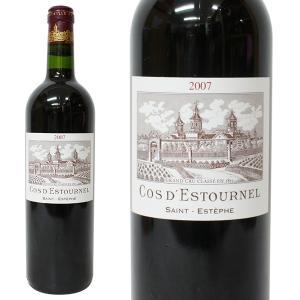 シャトー コス デストゥルネル 2007年 750ml 箱なし(赤ワイン・フランス)|paz-work