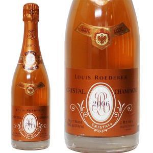 ルイ ロデレール クリスタル ロゼ 2006年 750ml 正規品・箱なし(シャンパン)|paz-work