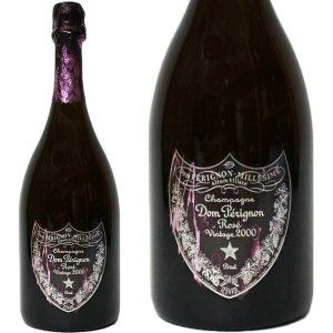 ドンペリニヨン ロゼ [2000年] デヴィッド リンチ デザイン ボトル 750ml 正規品・箱なし(シャンパン)|paz-work