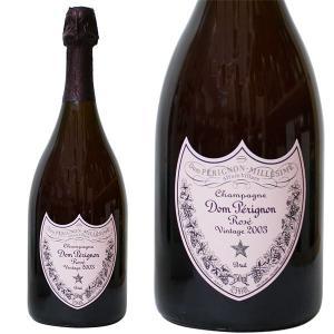 ドン ペリニヨン ロゼ 2003年 750ml 並行品・箱なし(シャンパン)|paz-work