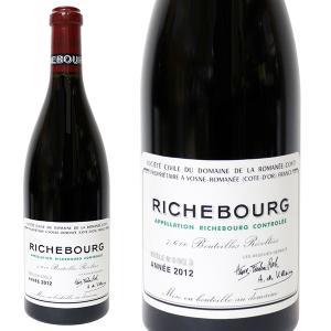 リシュブール DRC 2012年 750ml 正規品・箱なし(赤ワイン・フランス) ※代引き不可|paz-work