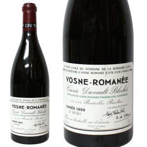 ヴォーヌ ロマネ プルミエ クリュ キュヴェ デュヴォー ブロシェ DRC [1999年] 750ml 正規品・箱なし(赤ワイン・フランス) paz-work