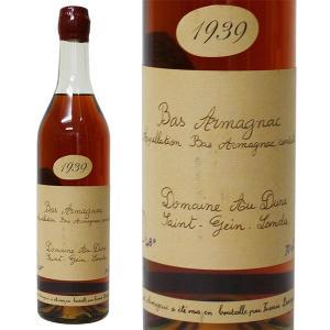 フランシス ダローズ ドメーヌ オー デューク 1939年 700ml 並行品・箱なし 古酒(ブランデー・フランス)|paz-work