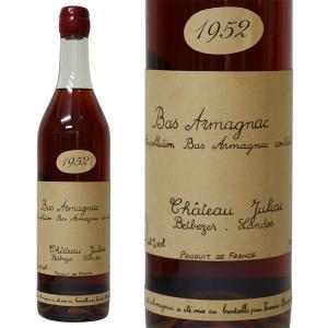 フランシス ダローズ シャトー ジュリアック 1952年 700ml 並行品・箱なし 古酒(ブランデー・フランス)|paz-work