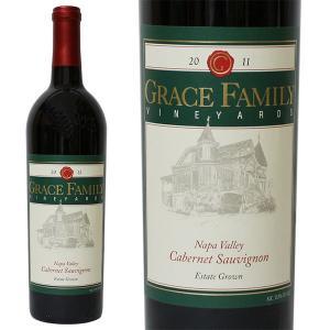 グレースファミリー カベルネ ソーヴィニヨン [2011年] 750ml 箱なし(赤ワイン・アメリカ)|paz-work