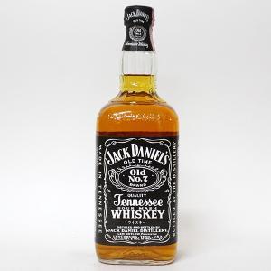 【オールドボトル】ジャックダニエル ブラック Old No.7(輸入者:サントリー) 750ml 45%  正規品・箱なし(ウイスキー・バーボンテネシー)|paz-work
