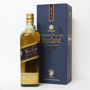 ジョニー ウォーカー ブルーラベル 750ml 40% 並行品・箱付き(ウイスキー)|paz-work