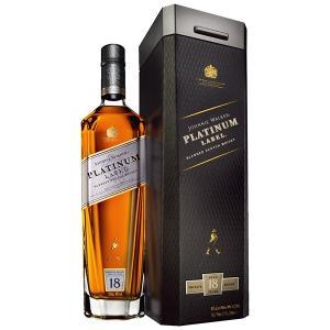 ジョニー ウォーカー プラチナラベル 18年 750ml 40% 正規品・箱付き(ウイスキー)|paz-work