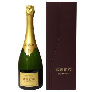 クリュッグ グラン キュヴェ ブリュット 750ml 正規品・箱付き(シャンパン)|paz-work