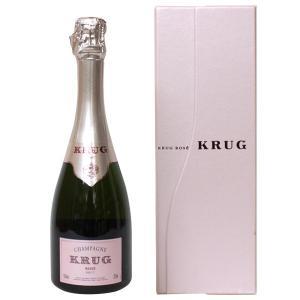 クリュッグ ロゼ ブリュット ハーフサイズ 375ml 正規品・箱付き(シャンパン)|paz-work