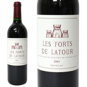 レ フォール ド ラトゥール [2003年]750ml 箱なし(赤ワイン・フランス)|paz-work