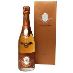 ルイ ロデレール クリスタル ロゼ 2007年 750ml 正規品・箱付き(シャンパン)|paz-work