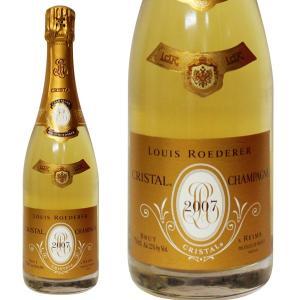 ルイ ロデレール クリスタル 2007年 750ml 正規品・箱なし(シャンパン)|paz-work