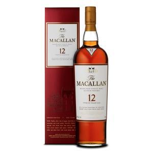 マッカラン 12年 シェリーオーク 700ml 40% 正規品・箱付き(ウイスキー)|paz-work