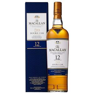 マッカラン 12年 ダブルカスク 700ml 40% 正規品・箱付き(ウイスキー)|paz-work