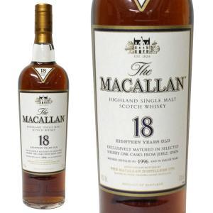 マッカラン 18年 [1996年] 700ml 40% 正規品・箱なし(ウイスキー)|paz-work