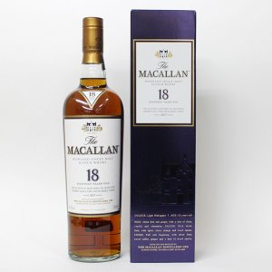 マッカラン 18年 2017 700ml 40% 正規品・BOX付(ウイスキー)|paz-work