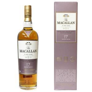 マッカラン ファインオーク 17年 700ml 40% 正規品・箱付き(ウイスキー)|paz-work