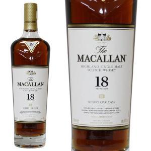マッカラン 18年 [2018年 700ml 43% 正規品・箱なし(ウイスキー)|paz-work