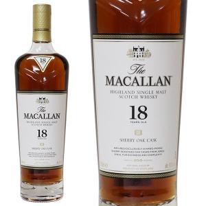 マッカラン 18年 2019年 700ml 43% 正規品・箱なし(ウイスキー)|paz-work