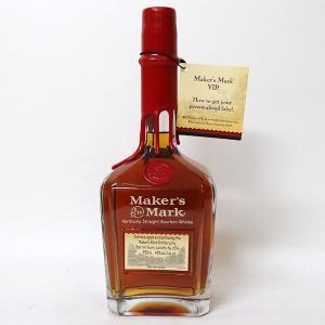 [オールドボトル]メーカーズ マーク レッドトップ VIP 750ml 45% 並行品・箱なし(ウイスキー・バーボン)|paz-work