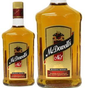 マクダウェル No.1 インド ウイスキー 750ml 42% 並行輸入品 箱なし(ウイスキー)|paz-work