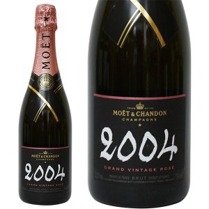 モエ エ シャンドン グラン ヴィンテージ ロゼ 2004年 750ml 正規品・箱なし(シャンパン)|paz-work