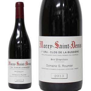 モレ サン ドニ プルミエ クリュ クロ ド ラ ビュシエール [2013年] ジョルジュ ルーミエ 箱なし(赤ワイン・フランス)|paz-work