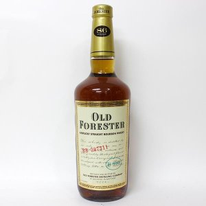 【オールドボトル】オールド フォレスター 750ml 43% 正規品・箱なし(ウイスキー・バーボン)|paz-work