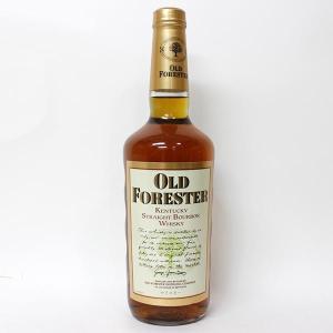 [オールドボトル]オールド フォレスター 750ml 43% 正規品・箱なし(ウイスキー・バーボン)※お一人様 6本まで|paz-work