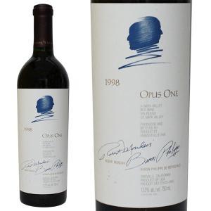 オーパス ワン [1998年] 750ml 箱なし(赤ワイン・アメリカ)|paz-work