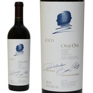 オーパス ワン [2001年] 750ml 箱なし(赤ワイン・アメリカ)|paz-work