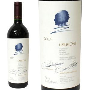 オーパス ワン [2007年] 750ml 箱なし(赤ワイン・アメリカ)|paz-work