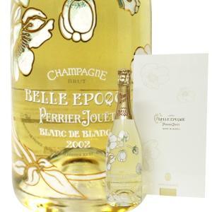 ペリエ ジュエ ベル エポック ロゼ ブラン ド ブラン [2002年] 750ml 正規品・箱付き *外箱汚れあり (シャンパン)|paz-work