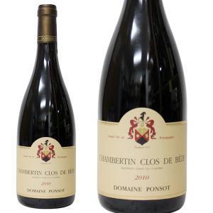 シャンベルタン クロ ド ベーズ[2010年]ドメーヌ ポンソ  750ml 箱なし(赤ワイン・フランス)|paz-work