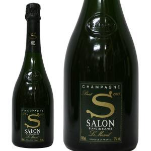 サロン ブラン ド ブラン ブリュット ミレジム [1983年] 750ml 正規品・箱なし(シャンパン)|paz-work