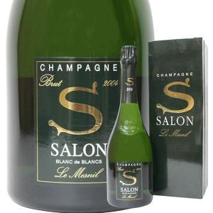 サロン ブラン ド ブラン ブリュット ル メニル ミレジム [2004年] 750ml 正規品・箱付き(シャンパン)|paz-work