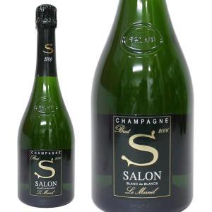 サロン ブラン ド ブラン ブリュット ル メニル ミレジム [2006年] 750ml 正規品・箱なし(シャンパン)|paz-work