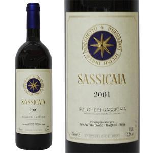 ボルゲリ サッシカイア テヌータ サン グイード [2001年] 750ml 箱なし(赤ワイン・イタリア)|paz-work