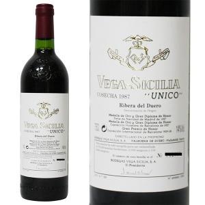 ヴェガ シシリア ウニコ 1987年 750ml 箱なし(赤ワイン・スペイン)|paz-work