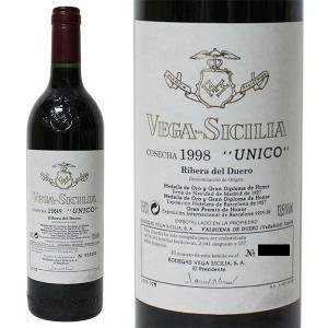 ヴェガ シシリア ウニコ 1998年 750ml 箱なし(赤ワイン・スペイン)|paz-work
