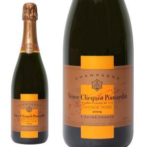 ヴーヴ クリコ ヴィンテージ ロゼ 2004 750ml 正規品・箱なし(シャンパン)|paz-work
