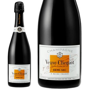 ヴーヴ クリコ ポンサルダン ホワイトラベル ドゥミセック 750ml 正規品・箱なし(シャンパン)|paz-work